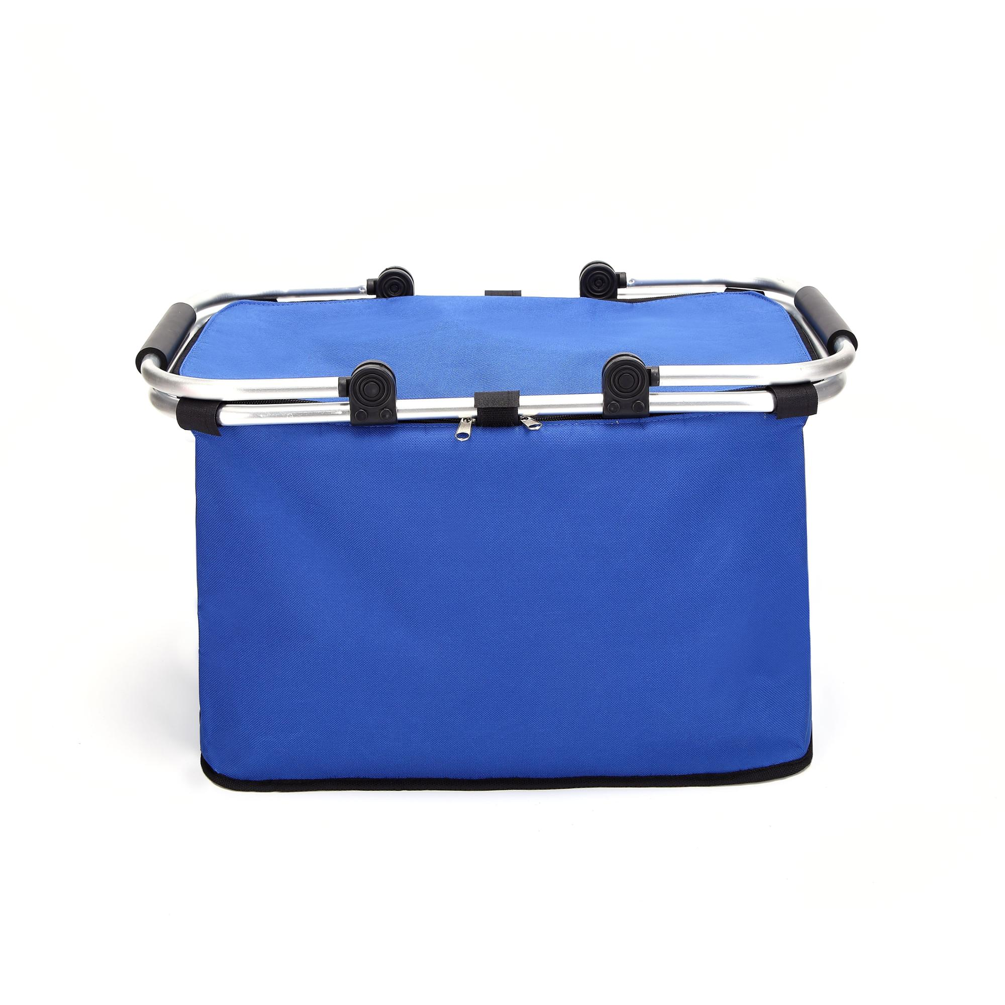 Metal stents Folding Lunch Bag For Food Insulation Thermal Ice Pack ice bag