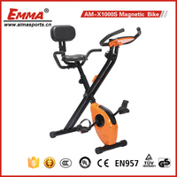 Indoor fitness fold Mini X-bike magnetic bike