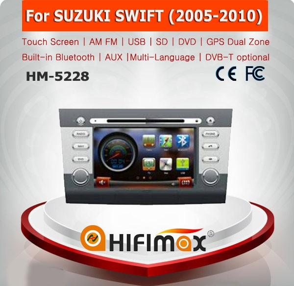 HIFIMAX suzuki swift car dvd gps navigation system Car Radio For Suzuki Swfit Autoradio (2005-2010)