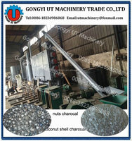 Biomass Gasifier Continuous Jute Sticks Charcoal Making Machine Charcoal Making Stove