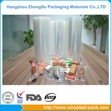food grade thermoforming pack clear stretch film jumbo roll