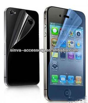 2013 Newest High Quality Anti-UV Screen Protector for iphone5S/5C