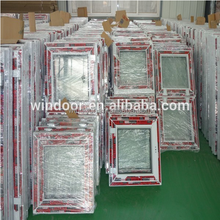 Own manufactory Wholesale plastic doors and windows with double glazed glass