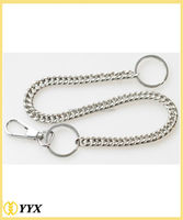 High polished new gift metal keychain charm tags metal customized key chains