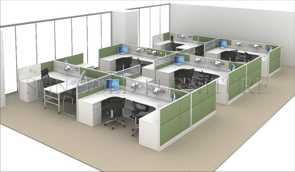 Top Quality High Wall Office Workstation Call Center
