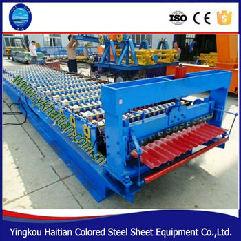 Alibaba China New Product Steel Sheet Panel Corrugated zinc roofing sheet machine