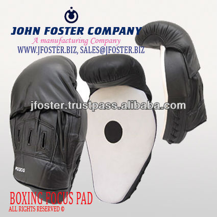 BLACK WHITE NEW DESIGN LEATHER FOCUS PAD