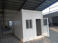 Water proof prefab buisness office portable prefab container houses for sale