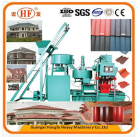 concrete roof tile production machine cost and promotion