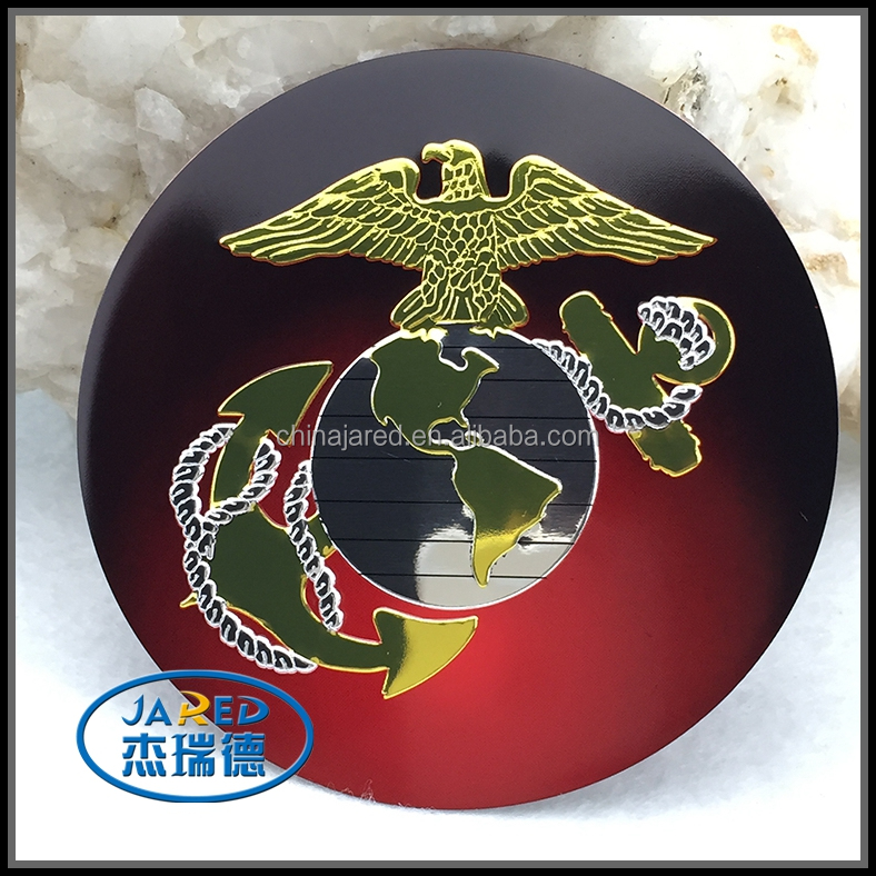 United States Marine Corps car sticker/aluminum USMC car sticker