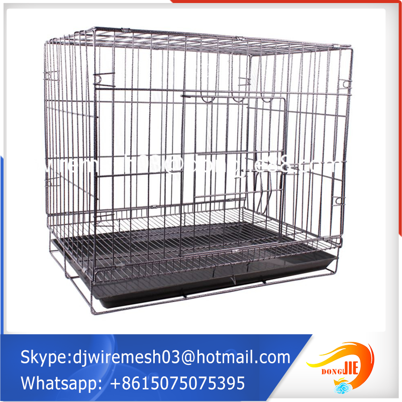 metal mesh outdoor decorating aviation dog cage customized