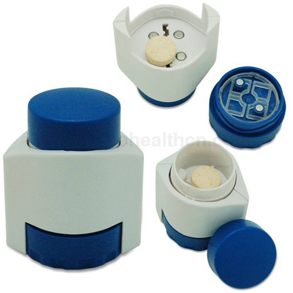 Factory Wholesale Portable Mini Plastic Promotional Safe Pill Cutter