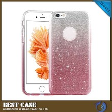 New arrival 3 in 1 Glitter phone cases for LG k7 soft TPU+matte PC flashing film cases