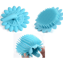 Baby Soft Silicone Shower Brush Bath Scrubber Body Massage Hair Cleaning Brushes