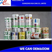 ustom printing food grade material film roll plastic automatic packaging film / laminated packaging film