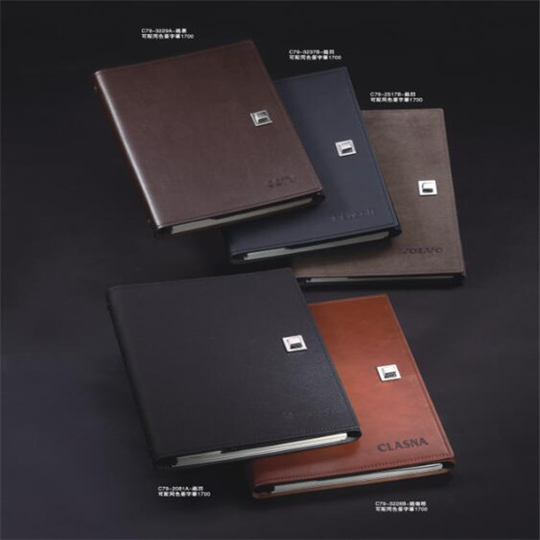 daily planner A5 Pu Leather Notebook Cover,Travel Pu Notebook With Debossed / Embossed Custom Logo For Euro