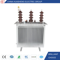 Free Maintaince Easy Install Three Phase Oil Immersed 11KV 415V 25KVA Transformer