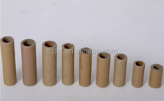 paper or plastic core used in paper rolls