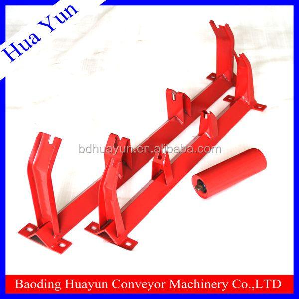 coal mine support equipment groove conveyor roller conveyor bracket and idler frame