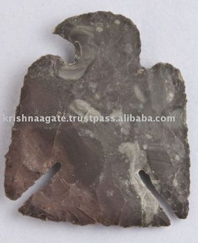 Wholesale Gemstone Arrowhead / Gemstone Artifacts / Carved Arrowhead / Hunting Arrowhead / Agate Arrowheads