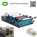 Double embossing maxi roll paper making machine