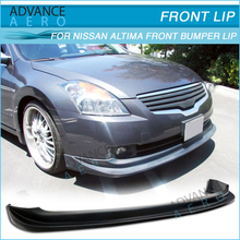 FOR 07-09 NISSAN ALTIMA PU FRONT BUMPER LIPS SPOILERS BODY KIT