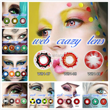 Unique korea contact lens wholesale very cheap colored for Party contact Lens with Vial Packaging