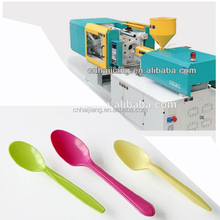 Automatic plastic spoon making machine