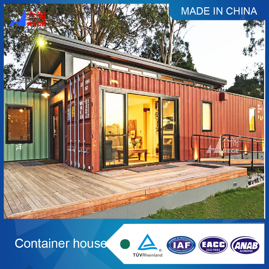 connective container house , luxury contenier house