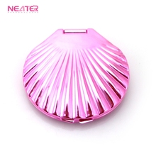 Worth Buying Lady's Gift Professional Manufacture Makeup Small Shell Compact Mirror