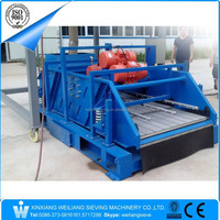 China Weiliang WLT drilling mud separator linear elliptical system
