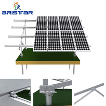 High Quality Pv Ground Support Brackets Aluminium Solar Panel Mounting Structures