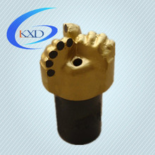 4.5 inch pdc 3 blades oil rig drill bit ,drilling for groundwater,oil and gas drilling equipment