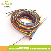 55M/Pack Insulation Polyolefin Ratio 2:1 Heat Shrink Tubing 11 sizes 6 Colours Shrinkable Tube Sleeving Set