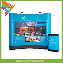 Factory price magnetic pop up display,pop up banner, pop up stand for trade show