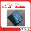 For LED Light Supply Customized Solar Panel 0.5W 5V Small Solar Panel