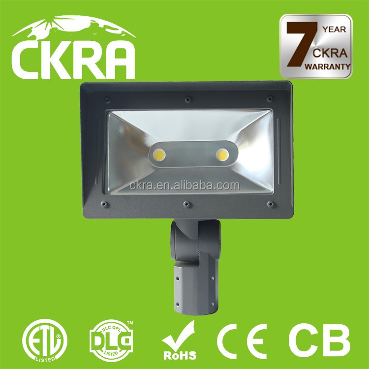 100w metal halide led replacement 50w led flood light 5500lm/w