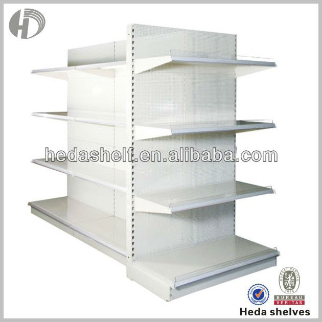 retail clothes shelving gondola