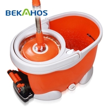 Bekahos Eco-Friendly PP mop head 360 degree easy cleaning magic handle type spin mop