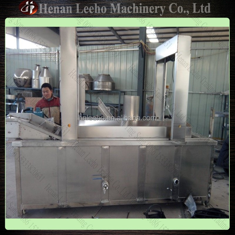 Continuous Fryer/Frying Machine Deep Frying Machine 0086 15333820631