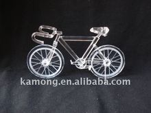 Classical Crystal bicycle model , crystal model, crystal gift