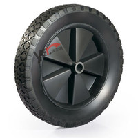 Solid rubber wheel 10x1.75