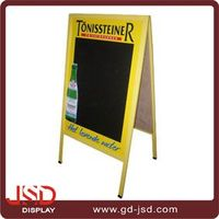 2016 Made In China Customized Design Outdoor use A Frame Chalkboard With Chalk