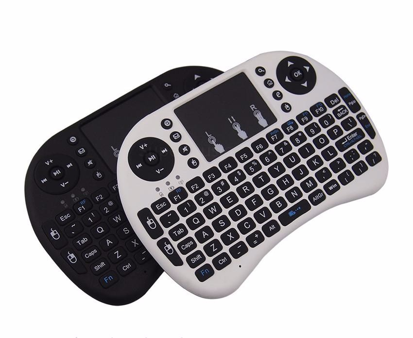 Wireless Gaming Keyboard Fly Air Mouse 2.4G Rii Mini I8 Touchpad Multi-Media Control For Smart Tv Box / Laptop / Mini PC