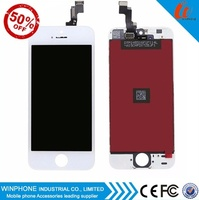 Wholesale for LCD iphone 5, for original iphone 5 screen replacement, for iphone 5 lcd assembly Grade AAA