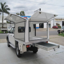 Aluminium Campers Canopies Tray Backs for utes Designs