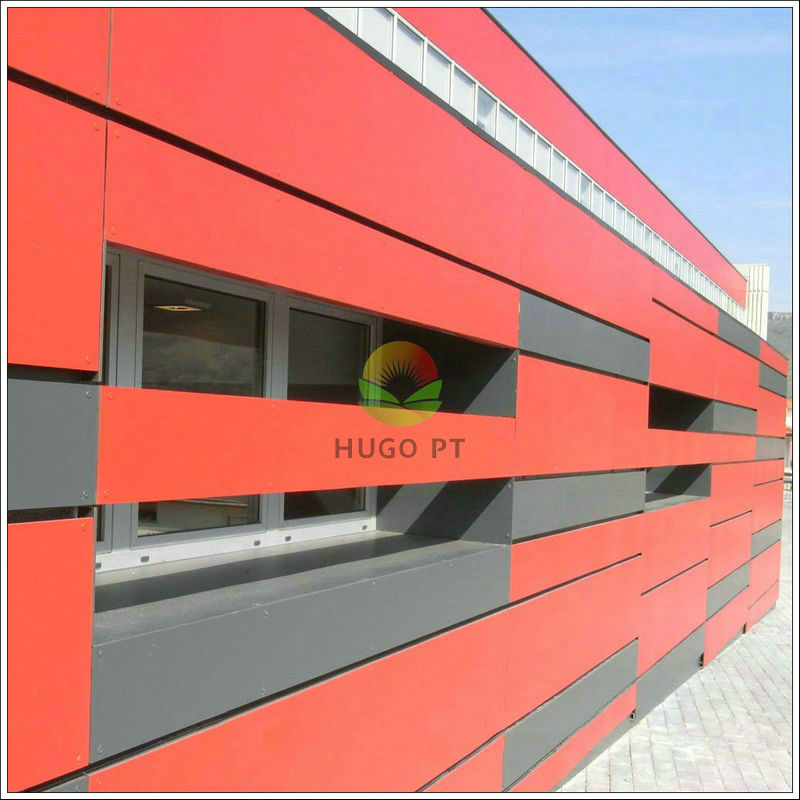 De alta densidad de colores de la fachada exterior de for House outer wall design