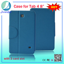 Fashionable cover wallet leather case for samsung galaxy tab pro 8.4