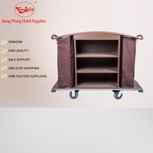 Baking Varnish hotel housekeeping cleaning trolley
