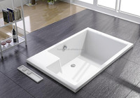 New Special Acrylic Big-size Drop-in Rectangle Bathtub WD6238